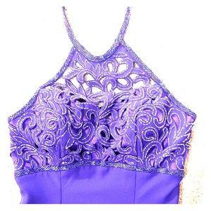 Purple gown/dress